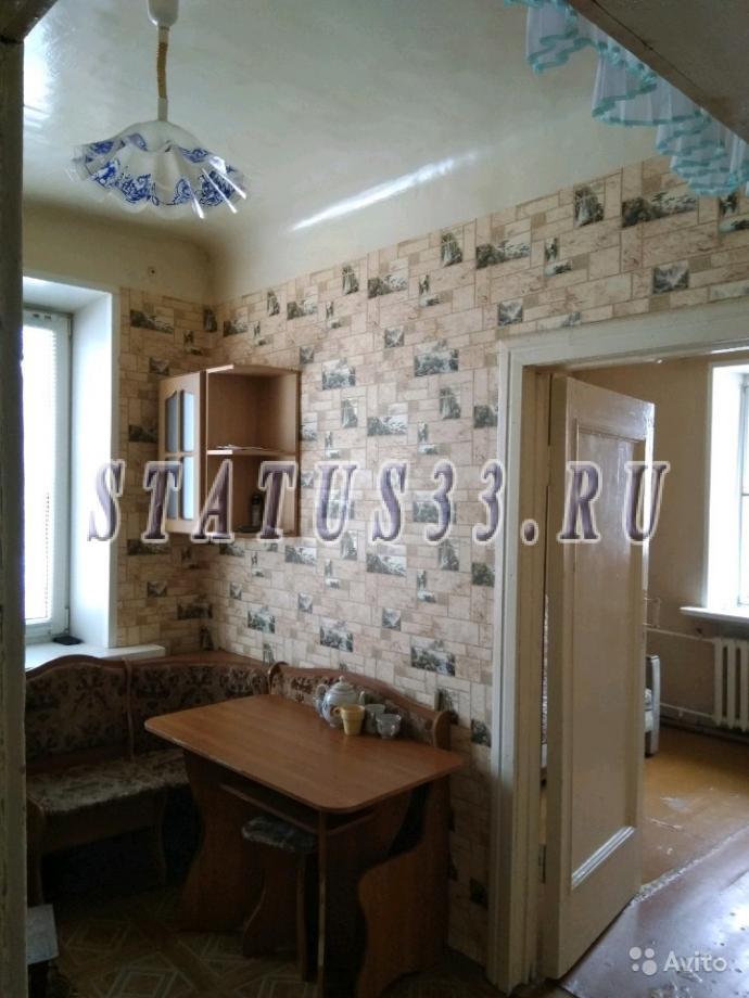 Купить  2-х комнатную  квартиру в г. Кольчугино на улице Луговая
